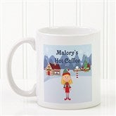 Family Character Personalized Coffee Mug 11 oz.- White - 4772-S