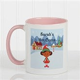 Family Character Personalized Coffee Mug 11oz.- Pink - 4772-P