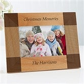 Create Your Own Personalized Holiday Frame- 4 x 6 - 4788