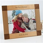 Create Your Own Personalized Holiday Frame- 8 x 10 - 4788-L