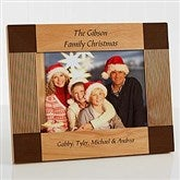 Create Your Own Personalized Holiday Frame- 5 x 7 - 4788-M