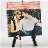 Sweet Couple Mini Photo Canvas Print- 5½ x 5½ - 4798