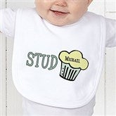 Stud Muffin Personalized Bib - 4813-B
