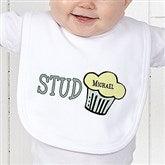 Stud Muffin Personalized Bib - 4813-B