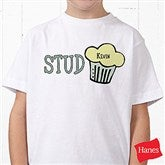 Stud Muffin Personalized Hanes® Youth T-Shirt - 4813-YCT