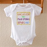 Somebody Loves Me Baby Bodysuit - 4814-IT