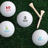 Birthday Cheer Golf Ball Set - Non Branded - 4914-B