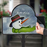 Watercolor Snowman© Magnet Only - 4921-M