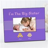 Sister Personalized Character Frame - 4972