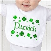 Lucky Clover Personalized Bib - 5039-B