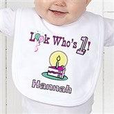 Birthday Kid Personalized Bib - 5049-B