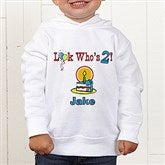 Birthday Kid Personalized Toddler Hooded Sweatshirt - 5049-CTHS