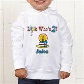 Birthday Kid Personalized Toddler Hooded Sweatshirt - 5049-CTHS