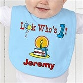 Birthday Kid Personalized Baby Bib - 5049-B
