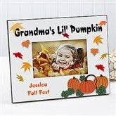 Pumpkin Patch Personalized Frame