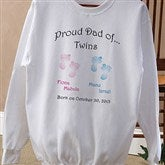 Twin/Triplet Adult Sweatshirt - 5095S