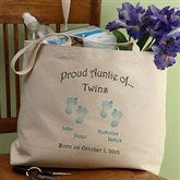 Twin/Triplet Tote Bag - 5095H
