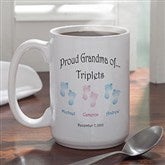 Twin/Triplet Coffee Mug- 15 oz. - 5095U-L