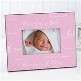 New Arrival Personalized Baby Frame-Solid - 5108-S