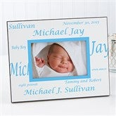 New Arrival Personalized Baby Frame-Border - 5108-B