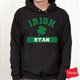 Irish Pride Personalized Hooded Sweatshirt - 5138-S