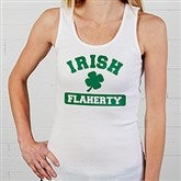 Irish Pride Personalized Ladies Tank Top - 5138-WLTT
