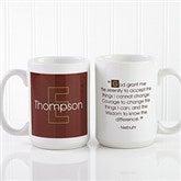 34 Quotes Personalized Coffee Mug 15 oz.- White - 5169-L