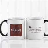 34 Quotes Personalized Coffee Mug 11oz.- Black - 5169-B