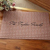 Family Is Forever Personalized Doormat - 5175