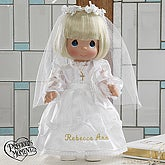 Precious Moments® Personalized Communion Doll- Blonde - 5232-BL