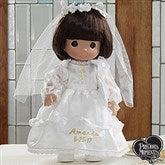 Precious Moments® Personalized Communion Doll- Brunette - 5232-BR