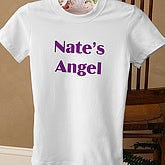 You Name It Ladies White Fitted Tee - 5278-LF