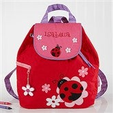 Ladybug Embroidered Backpack by Stephen Joseph - 5301-L