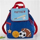 All Star Sports Embroidered Kid's Backpack by Stephen Joseph - 5302