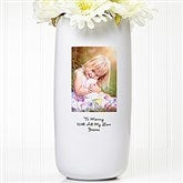 Photo Sentiments Personalized Vase - 5306