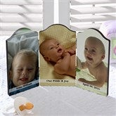 Photo Sentiments Petite Triple Photo Plaque - 5315-3
