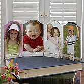 Photo Sentiments Petite Quadruple Photo Plaque - 5315-4