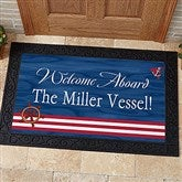 Welcome Aboard! Personalized Doormat- 20x35 - 5354-M