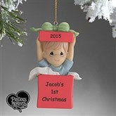Precious Moments® Personalized Ornament- Boy - 5355-B