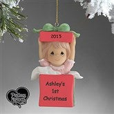 Precious Moments® Personalized Ornament- Girl - 5355-G