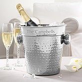 Hampton Collection Engraved Chiller and Ice Bucket - 5359