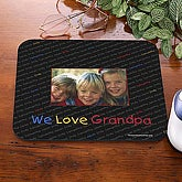 His Little Ones Mouse Pad- With Photo - 5401-P