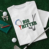 Big Hitter Adult Golf T-Shirt - 5403-AT