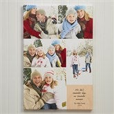 Personalized 5 Photo Collage Canvas Print- 12