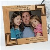 A Special Step-Dad Personalized Frame- 8 x 10 - 5421-L