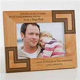 A Special Step-Dad Personalized Frame- 5 x 7 - 5421-M