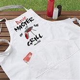 Master Of The Grill Personalized Adult Apron - 5428-A