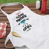 Future Master Of The Grill Personalized Youth Apron - 5428-Y