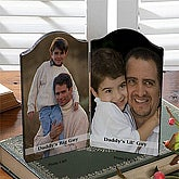 Photo Sentiments Petite Double Photo Plaque - 5431-2