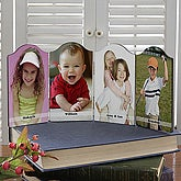 Photo Sentiments Petite Quadruple Photo Plaque - 5431-4